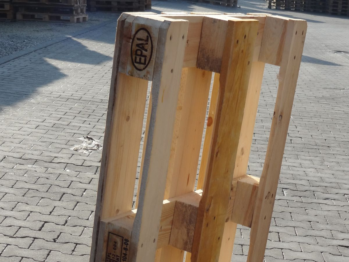 Euro Pallet 1200x800 Mm New 5